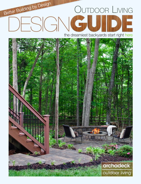 Archadeck's Free Design Guide, Cover Graphic by Matthew Victor, St. Louis Mo