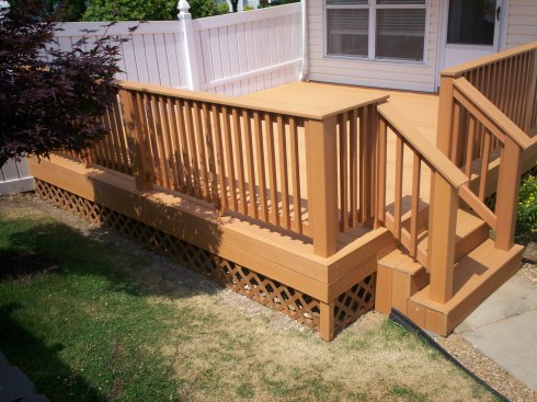 Composite Cedar Decks in St. Louis by Archadeck