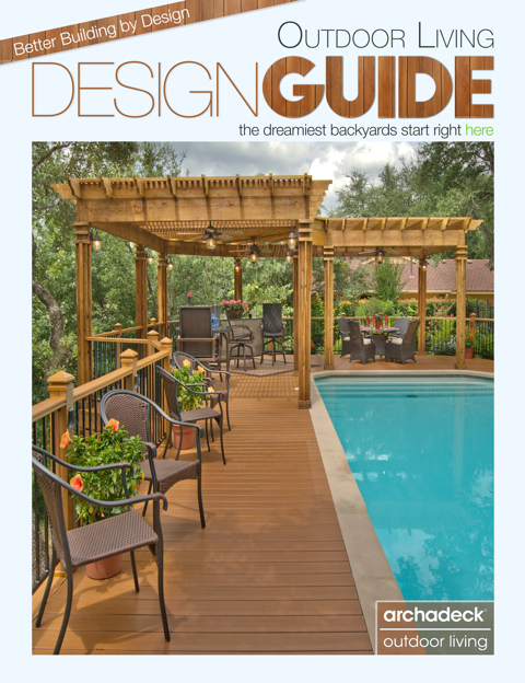 Archadeck Outdoor Living Free Design Guide, Cover Graphic by Matthew Victor