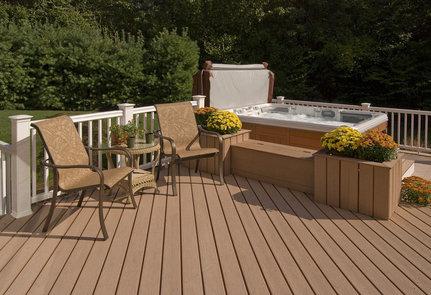 7 simple features to instantly improve a deck st louis. Black Bedroom Furniture Sets. Home Design Ideas