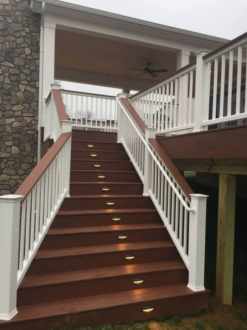 Deck and Stairs by Archadeck