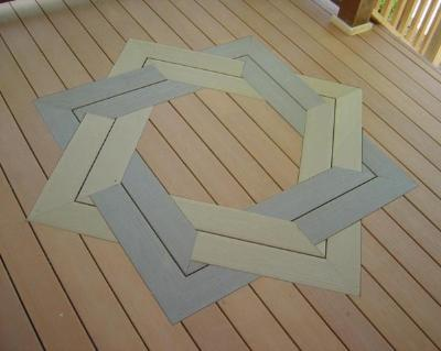 Deck with Floor Inlay by Archadeck