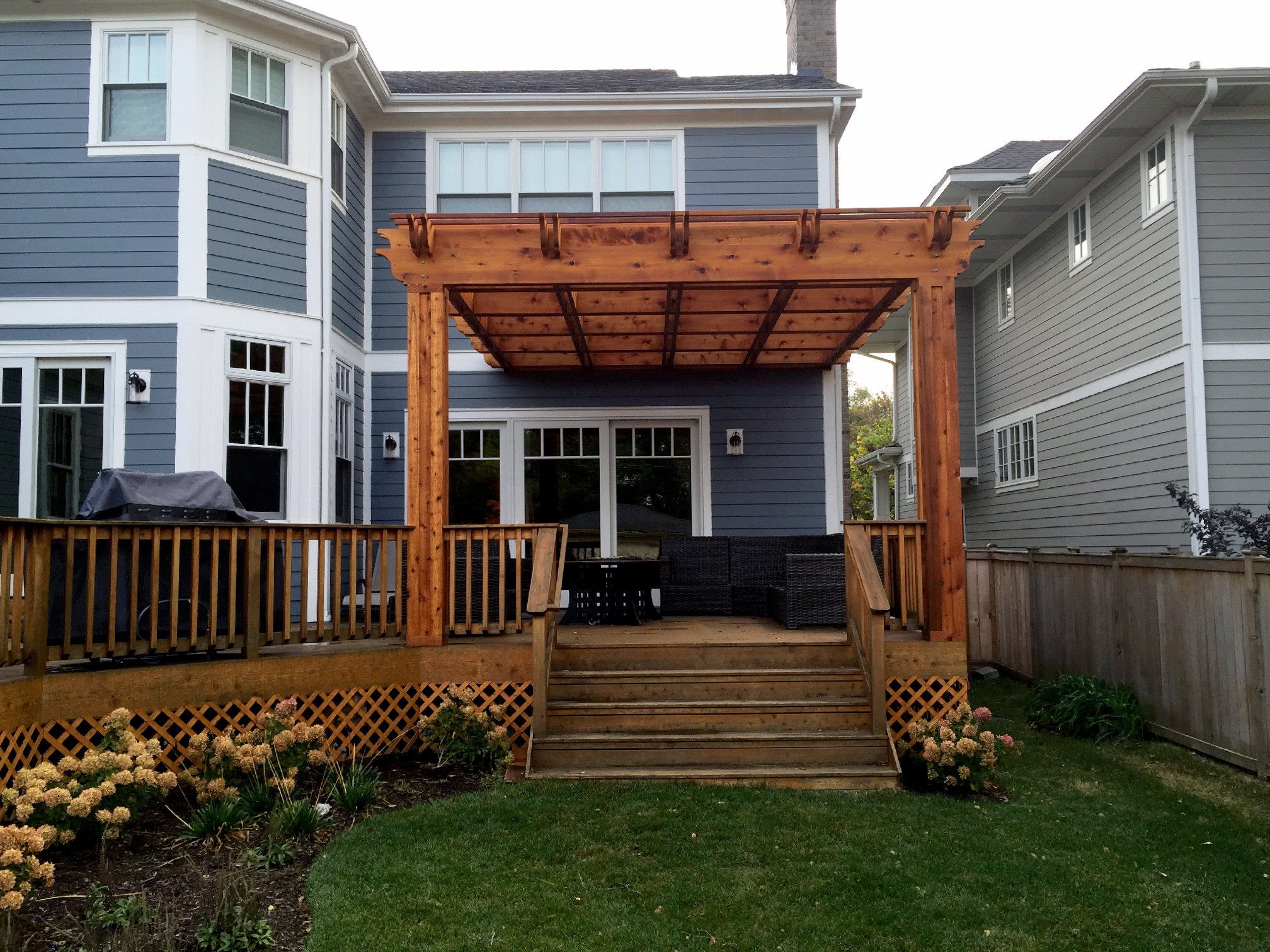 St Louis Mo Pergola Deck Designs By Archadeck St