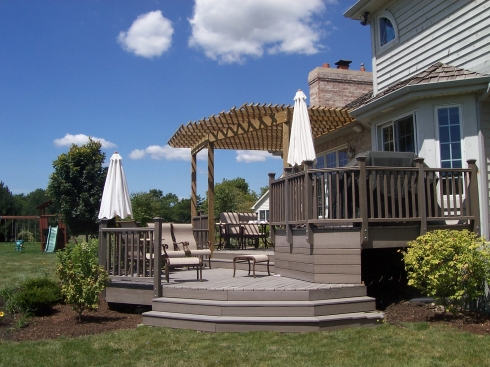 Pergola and Deck by Archadeck