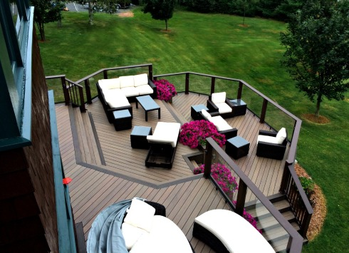 Spacious Multilevel Composite Decks by Archadeck - Design Guide Download
