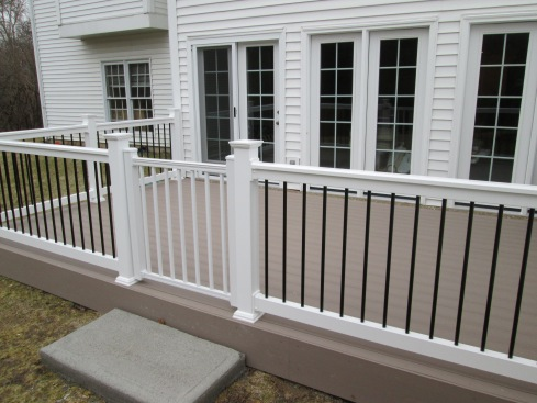 Deck with Safety Gate, St. Louis Mo by Archadeck