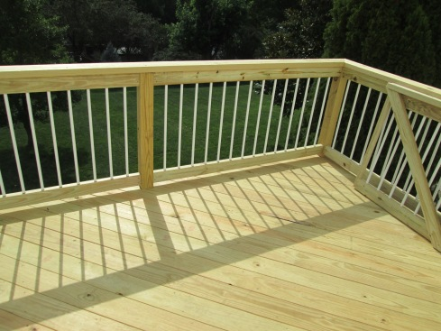 Natural, Light Color for Wood Deck by Archadeck, St. Louis Mo