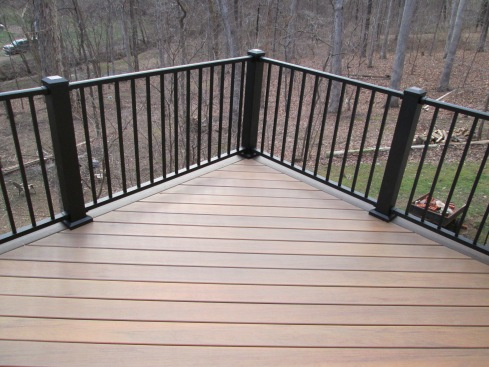 Tigerwood Capped Composite Decking, St. Louis West County, by Archadeck
