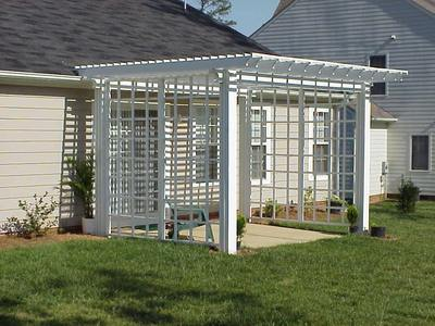 Pergola with Trellis Sides by Archadeck